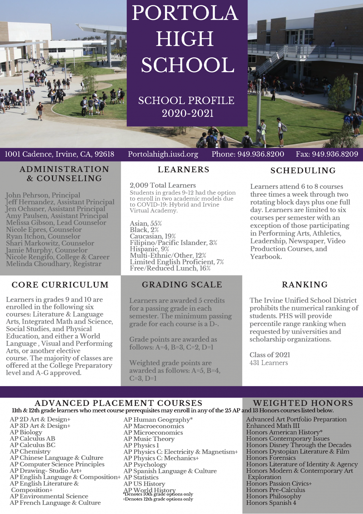 School profile 1